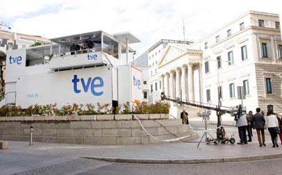 TVE en cobertura para las elecciones 2016 en España