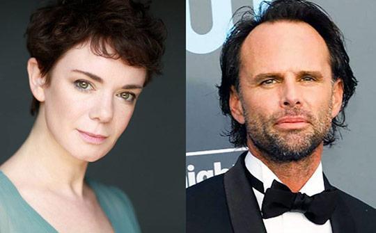 La actriz Victoria Hamilton y el veterano de cine y TV, Walton Goggins integran el nuevo elenco para esta temporada.