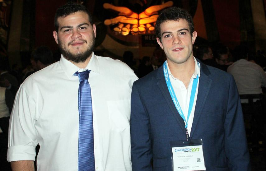 Tomás y Agustín Val, organizadores de Convergencia Mex 2017.