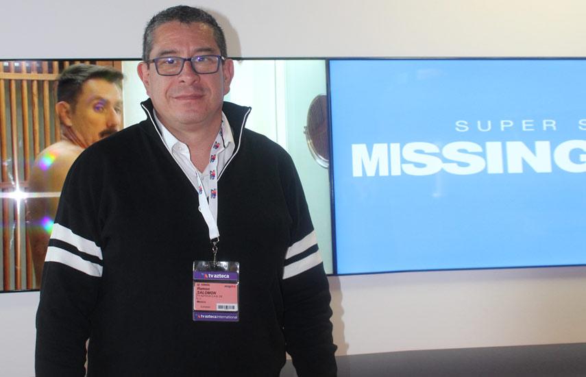 Ramón Salomón de TV Azteca
