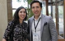 Blanca Valdivielso y Hugo Della Motta de Reed Midem
