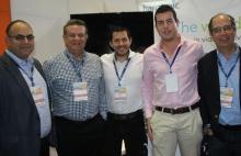 Guillermo Ramírez de Harmonic, Roman Becerra de NYL, Daniel Villavicencio, David Giraldo y Alvaro Martin Armendariz de Harmonic