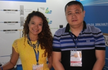 Mayra Hernández y Tim Zhou de Gospell