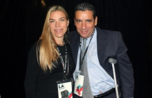 Ivette Ciavaldini y Carlos López de Olympusat