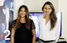 Luisa Fernández Pérez y Lina Maria Waked de RCN